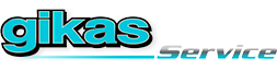 Gikas || Car Repair Service Logo